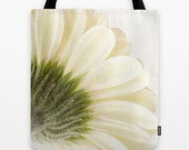 Gerbera Daisy, Photo Tote Bag, Tote Bag, Reusable Bag, Flower, Floral, Fine Art Photography