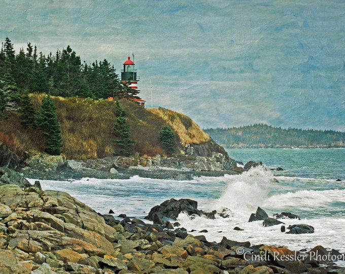 West Quoddy Head Lighthouse, Photography, Lighthouse Photography, Maine Photography, Landscape Photography