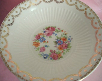 Vintage Wedding Soup Bowls Royal China Rosaleen Set of 12 Cottage Chic Vintage Bridal Shower