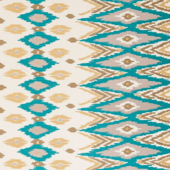 turquoise kilim upholstery fabric brown blue embroidered. Black Bedroom Furniture Sets. Home Design Ideas