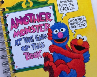 Another Monster at the End of This Book Little Golden Book Recycled Journal Notebook