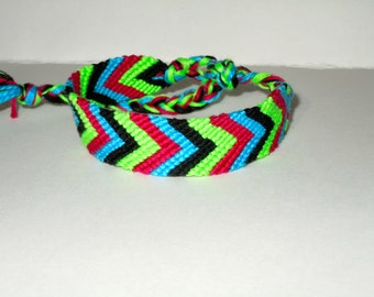 Friendship Bracelet - Chevron - Mexico