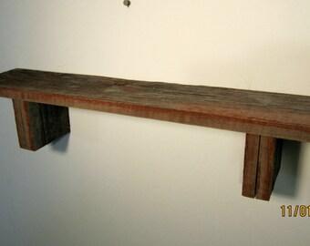 """Barnwood Shelf 24"""""""