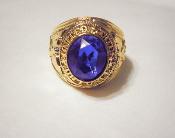 1 Goldplated U.S. Air Force Ring