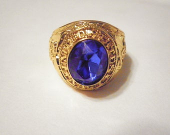 1 Goldplated U.S. Navy Ring