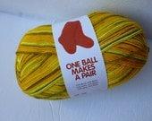 Sale Lemon Drop Sock-Ease by Lion brand Yarns