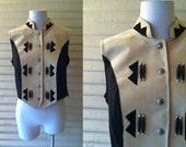 1980s Leather Suede Vest | TO DY FOR Vest | 80s Vest | Vintage biker vest