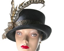 popular items for womens top hat on etsy