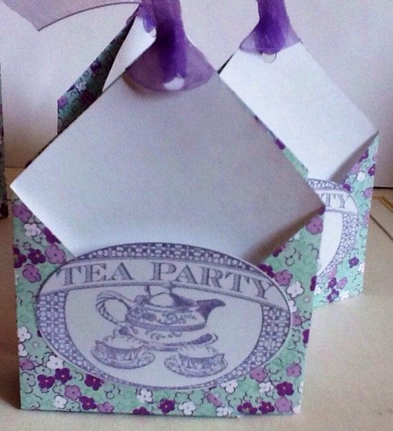 Tea Bags Favors Favors 2 Tea Bag Holder