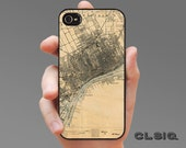 Vintage Detroit Map Case for iPhone 6, iPhone 6 Plus, iPhone 5/5S, iPhone 5c or iPhone 4/4s, Samsung Galaxy S5, Galaxy S4, Galaxy S3