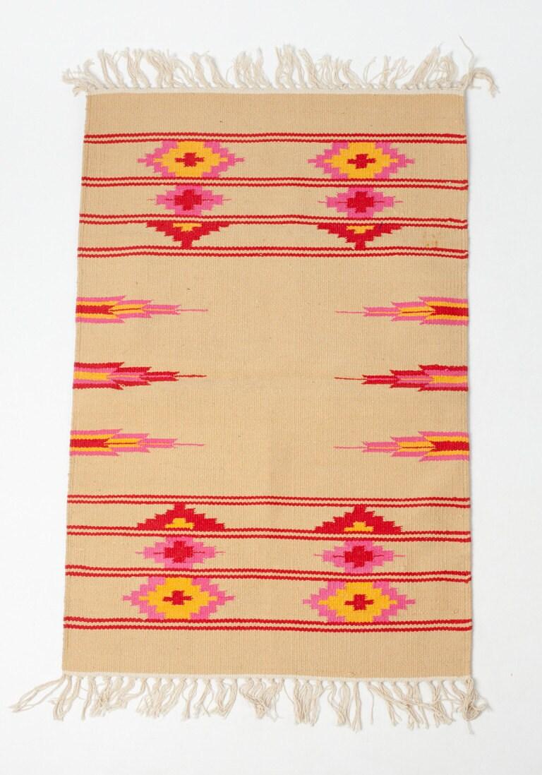Sale Native Tribe 2 5 X4 In Sun Tones Rug By Gypsya On Etsy