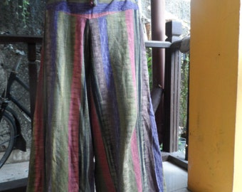 25% OFF CLEARANCE SALE Tie Font Harem Pants in multi colour