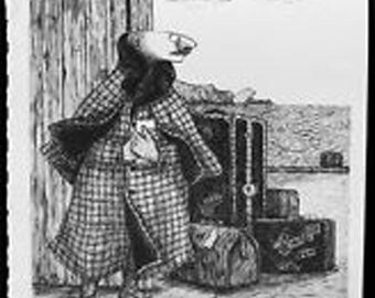 Mr. Earbrass Book Plate Poster Print by Edward Gorey