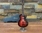 Personalized Miniature Gibson Guitar- Gift for Musician- instrument (CGB18BO)