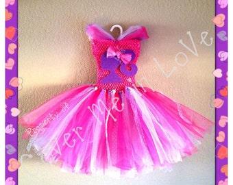 Barbie tutu dress sz 18 mo to 7