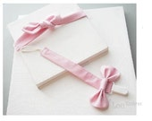 Personalized Bow tie or Bowknot Pacifier clip,Pacifier holder + Adjustable Headband-set of 2-#439