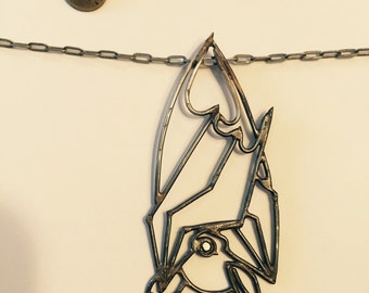 Forged Fruit Bat Necklace