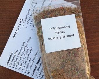 Chili Seasoning Packet