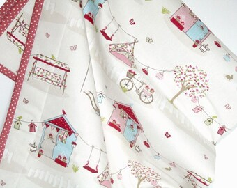 Baby Girl Quilt, Pink Baby Girl Bedding, Modern Baby Quilt, Girl Nursery Bedding, Wholecloth Crib Quilt, Baby Girl Shower Gift