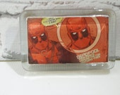 DeAdPoOl Comic Book Paper Weight. READY TO SHIP. For the Nerd That Has Almost Everything. Office Decor. Boyfriends. Dads. Teacher Gift.