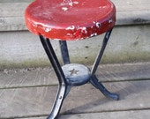 Antique 3-legged Milking Stool by Starline, Harvard, Il