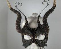 Masquerade Ball Mask Black//Halloween Masquerade Mask//Mardi Gras Masquerade Mask//Festival Masquerade Mask//Carnival Masquerade
