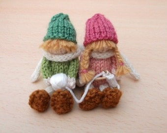 Knitting children, knit two together PDF