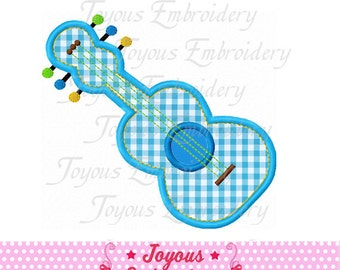 Instant Download Guitar Embroidery Applique Design NO:1629