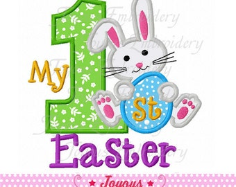My 1st Easter Applique Machine Embroidery Design-1676