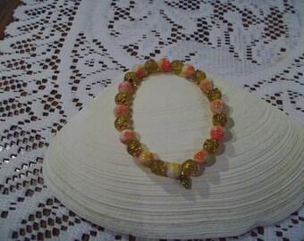 Yellow Bee Bracelet
