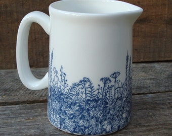 Quarter Pint Hedgerow Milk Jug