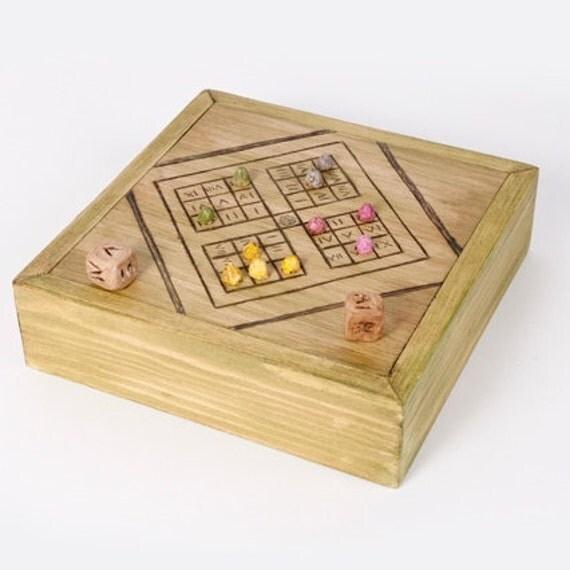 Tesserae Roman Dices Board