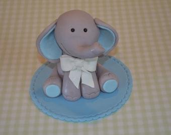 Baby Elephant cake topper