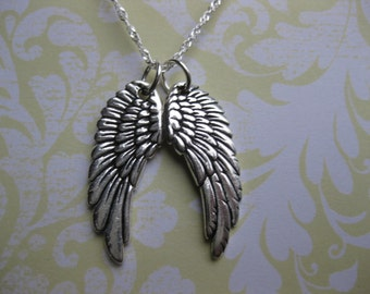 Angel jewelry angel wings necklace i love jewelry Handmade, Custom Jewelry