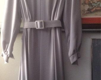 Vintage Size 12 custom tailored dress