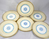 "Paragon China 6"" Salad Plates Set of Six H.M.Queen Mary  c.1940"