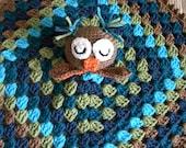 Crocheted Lovie Owl