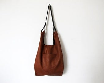 Black Leather tote bag women leather bags SALE soft leather