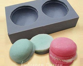 CA008 Macaron Soap Mold, soap mold, silicone soap mold (Kudos Design, Kudosoap) Taiwan