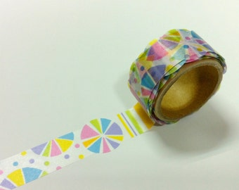 Material Michemon  Tokiiro series Masking Tape / kyo-ame MM-MK-010  / 20mm x 5m