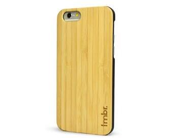 iPhone 6 Plus Bamboo Case, Bamboo iPhone 6 Plus Case - Bamboo Wood iPhone 6 Plus Case - CBB6P