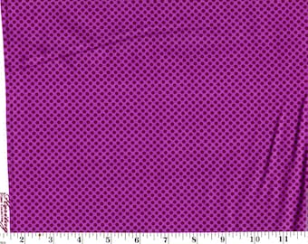 1 Yard, Heritage Studio Purple Dots on Purple