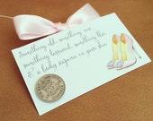 Wedding Sixpence - Silver Sixpence - Something Old, Something New - Ready to Ship