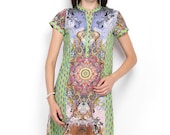 Women Multicoloured Printed Kurta