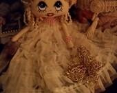 Nala, Collectable Cloth Art Doll.