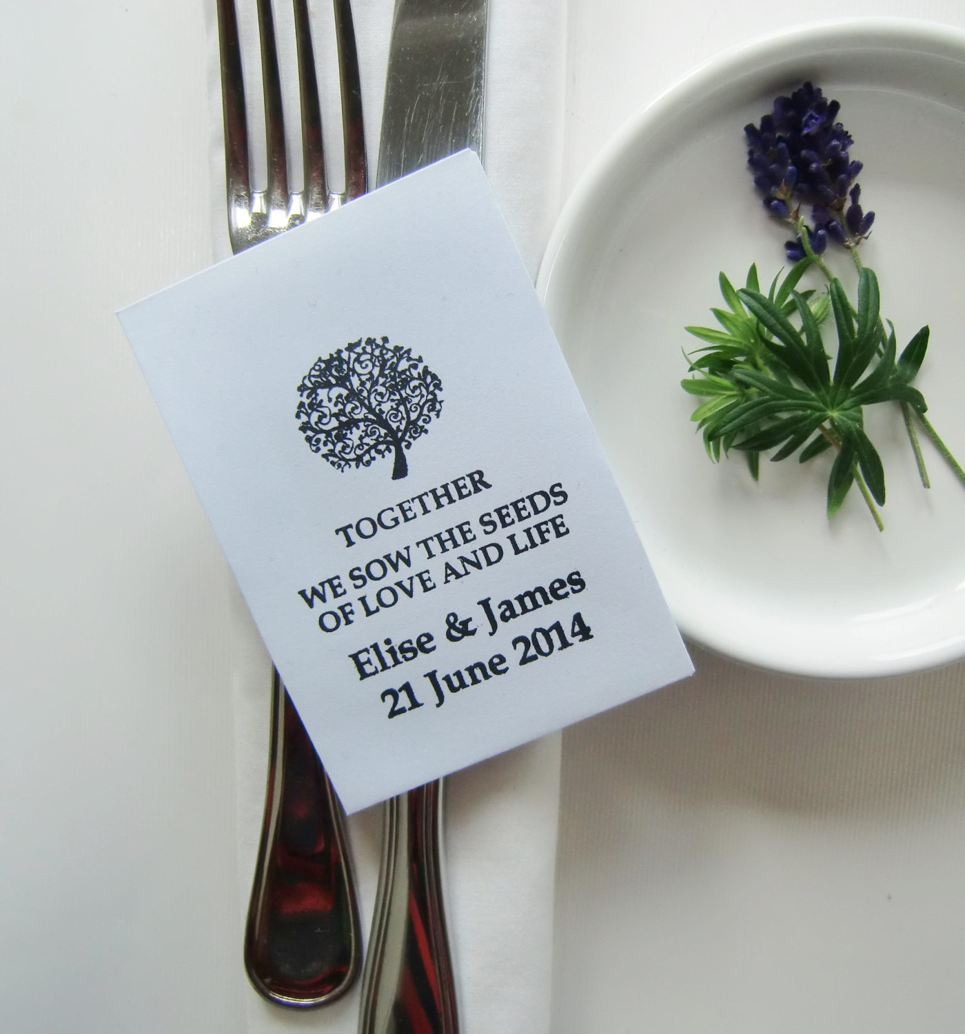 Wedding Favors Wedding Seed Packets Religious By IzzyandLoll