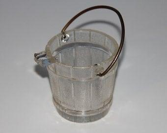 Glass Ash Bucket - Coal Bucket Ashtray - Individual Ashtray