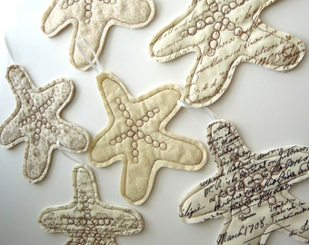 Coastal Tree Ornaments: Starfish
