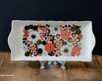 Westminster Australia 'Pimpernel' porcelain serving platter (c. 1970-77)