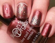 Merry Kissmas Nail Polish - Red Nail Lacquer - 3 free - Indie Nail Polish - Nail Art - Nail Designs - Indie Polish - Christmas in July